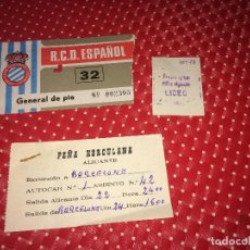 Coleccionismo deportivo: R.C.D. ESPAÑOL - HÉRCULES, C. F. - ENTRADA - TEMPORADA 1978/79 - PRIMERA DIVISIÓN - 23 SEPT 1978. Lote 261679720