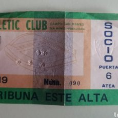 Coleccionismo deportivo: ENTRADA TICKET ATHLETIC BILBAO GIRONDINS BORDEAUX 84 85 COPA EUROPA. Lote 263071990