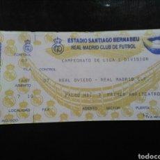 Coleccionismo deportivo: ENTRADA FÚTBOL REAL MADRID OVIEDO 94/95. Lote 263223325