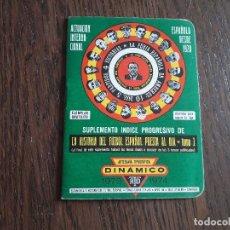 Coleccionismo deportivo: CALENDARIO DINÁMICO DE FUTBOL, TEMPORADA 1973-1974, EJEMPLAR GRATUITO.. Lote 267832629