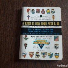 Coleccionismo deportivo: CALENDARIO DINÁMICO DE FUTBOL, TEMPORADA 1972-73. Lote 267832974