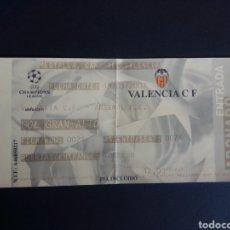 Coleccionismo deportivo: ENTRADA FUTBOL. CHAMPIONS LEAGUE. VALENCIA C.F. - ARSENAL F.C. 2003.. Lote 276167483