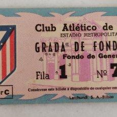 Colecionismo desportivo: ENTRADA DE FUTBOL CLUB ATLETICO DE MADRID METROPOLITANO GRADA DE FONDO ESTE SECTOR C. Lote 277476208