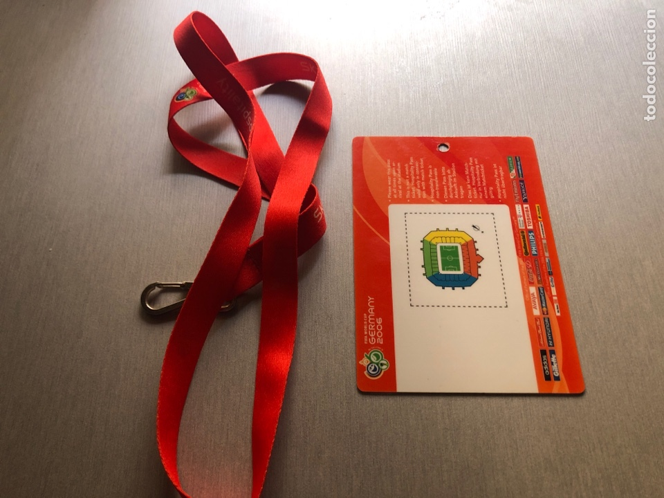 Coleccionismo deportivo: Lionel Messi debut wc 2006 Hospitality Pass - Foto 2 - 284351023
