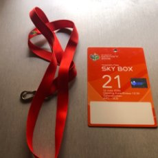 Coleccionismo deportivo: LIONEL MESSI DEBUT WC 2006 HOSPITALITY PASS. Lote 284351023