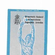 Coleccionismo deportivo: ENTRADA ANTIGUA- ESTADIO RAMÓN SÁNCHEZ PIZJUAN- 24 DE FEBRERO DE 1974. Lote 288558028