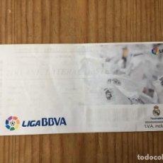 Coleccionismo deportivo: R15525 ENTRADA TICKET FUTBOL REAL MADRID 4-1 GETAFE (22-9-2013) GOL 150 CRISTIANO RONALDO. Lote 294163618