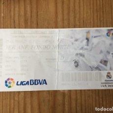 Coleccionismo deportivo: R15527 ENTRADA TICKET FUTBOL REAL MADRID 4-1 GETAFE (22-9-2013) GOL 150 CRISTIANO RONALDO. Lote 294163718