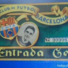 Coleccionismo deportivo: (FE-20)ENTRADA C.F.BARCELONA AÑOS 50 FOTOGRAFIA M.MARTIN. Lote 295425048