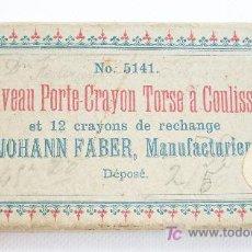 Escribanía: CAJA EN CARTÓN DE UN PORTAMINAS. JOAHN FABER.. Lote 22997725
