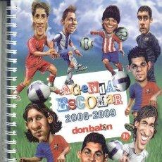 Escribanía: DON BALON AGENDA ESCOLAR 2008/09. Lote 24820609