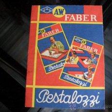Escribanía - Publicidad lapices Pestalozzi.Faber - 23365415
