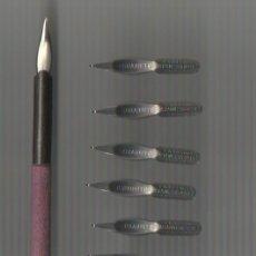 Scrivania: 5.4 MODELO 4 COJUNTO DE PALILLERO Y 10 PLUMILLAS PERRY DURABRITE Nº 11. Lote 71192697