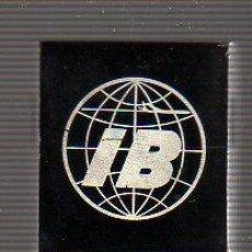 Escribanía: INTERESANTE PINZA PARA PAPELES CON PUBLICIDAD CIA. AEREA IBERIA -. Lote 27594401