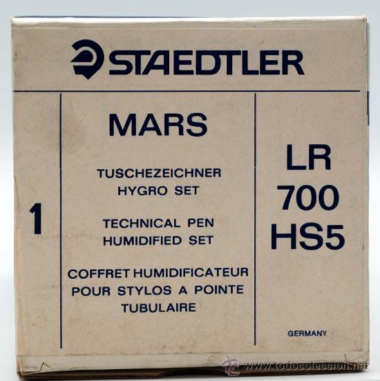 Escribanía: Recipiente deposito humidificador para rotring marsmatic Staedtler MARS LR 700 HS5 - Foto 3 - 181730136