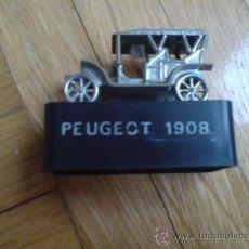 Escribanía: ANTIGUO SACAPUNTAS COCHE PEUGEOT 1908 (VER IMÁGEN ADICIONAL). Lote 28735752