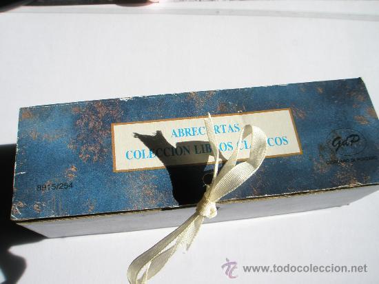 Escribanía: BONITO ABRECARTAS-CAJA-NUEVO. - Foto 6 - 29276275