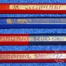 Escribanía: LOTE DE 4 LAPICEROS - HISPANIA SELLO ORO. Lote 29947409