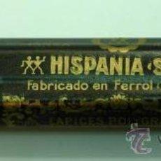Escribanía: 12 LÁPICES HISPANIA POLYGRADES KOLOSAL Nº 505 COPIATIVOS FABRICADOS EL FERROL COLOR ROJO. Lote 177567767