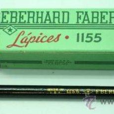 Escribanía: 12 LÁPICES E BERNHARD FABER 1155 Nº 2 MADE IN USA NUEVOS SIN USO. Lote 177563017