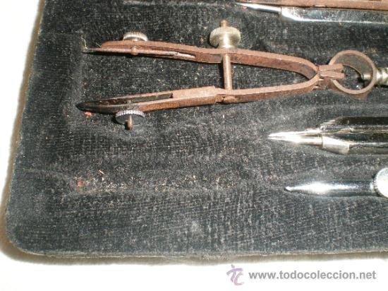 Escribanía: antiguo juego de compas - Foto 3 - 32383399