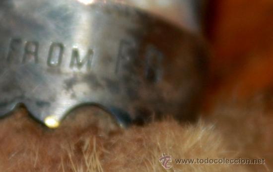 Escribanía: ABRECARTAS DEL SIGLO XIX,FECHADO,REALIZADO EN PLATA MARFIL Y LA PATA DE UN ANIMAL - Foto 6 - 158017817