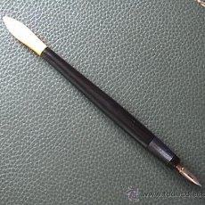 Escribanía: PALILLERO DE BAQUELITA CON EXTREMO ABRECARTAS DE HAYA CIRCA 1920. Lote 34203196