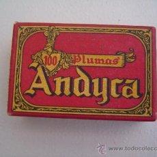 Escribanía: CAJA DE PLUMILLAS ANDYCA MOD. 134 CON TASA. Lote 34304366