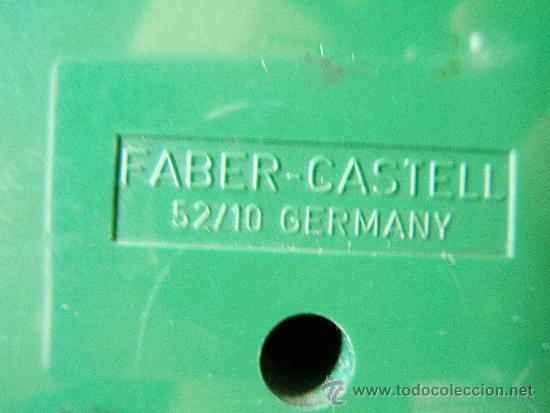 Escribanía: MAQUINA SACAPUNTAS PROFESIONAL DE OFICINA - CON ACCESORIOS - FABER CASTELL-GERMANY-AÑOS 1960/1970? - Foto 5 - 36755841