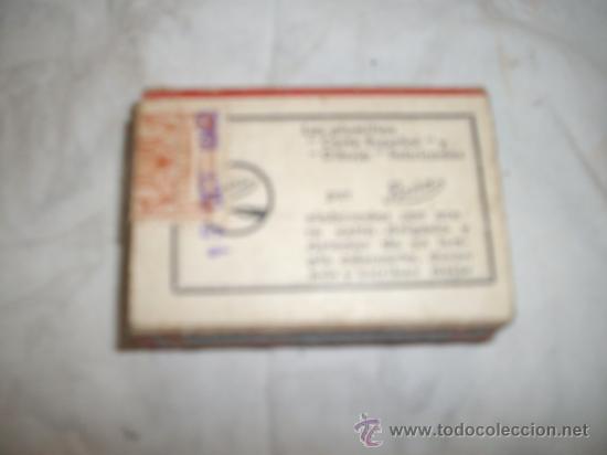 Escribanía: caja de plumillas boira corte español - Foto 3 - 37763503