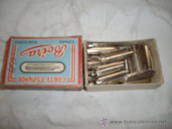 Escribanía: caja de plumillas boira corte español - Foto 2 - 37763503