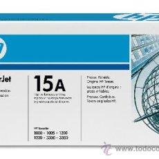 Escribanía: IMPRESORAS HP LASERJET - 1000 - 1005 - 1200 - 1220 - 3300 - 3380 - CARTUCHO TINTA NEGRA. Lote 38114135