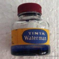 Escribanía: ANTIGUO BOTE TINTA WATERMAN- CAR08. Lote 39125395