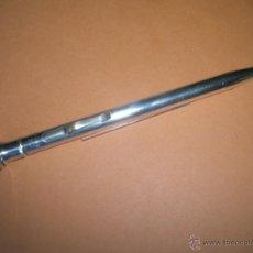 Escribanía: Aº PORTAMINAS-WAHL EVERSHARP-SILVER PLATED-SIN GOLPES-135 MM-- Y DESCRIPCIÓN.. Lote 40540683