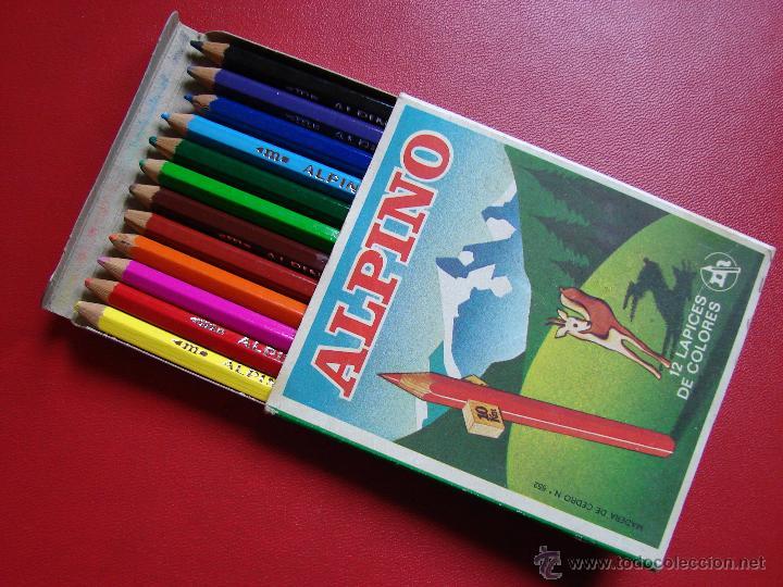 Caja con 12 pinturas alpino l pices de colores comprar for Ver colores de pintura