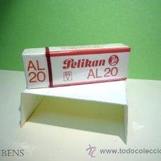 Escribanía: PELIKAN, ANTIGUA GOMA DE BORRAR PARA LAPIZ Y LAPIZ DE COLOR AL 20. Lote 207773520