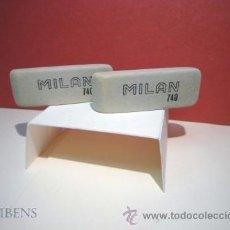 Escribanía: MILAN, 2 GOMAS DE BORRAR PARA TINTA Nº 740. Lote 107663931