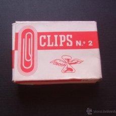 Escribanía: ANTIGUA CAJA DE CLIPS. Lote 42908457