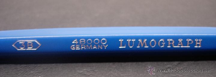 Escribanía: Lote 8 portaminas años 60 STAEDTLER MARS TECHNICO serie 48000 LUMOGRAPH B-2B-3B-F-H-4H-5H-6H GERMANY - Foto 4 - 43282823