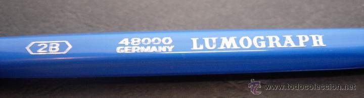 Escribanía: Lote 8 portaminas años 60 STAEDTLER MARS TECHNICO serie 48000 LUMOGRAPH B-2B-3B-F-H-4H-5H-6H GERMANY - Foto 8 - 43282823