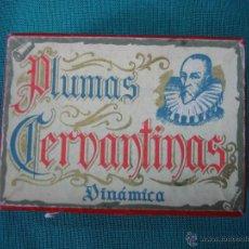 Escribanía: PLUMAS CERVANTINAS DINAMICA 1942. Lote 43834506