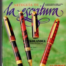 Escribanía: ARTEGUIA DE ESCRITURA REVISTA ESPAÑOLA SOBRE LA LETRA EKL PLUMA ESTILOGRAFICA Y SU ENTORNO ARTE GUIA. Lote 40458477