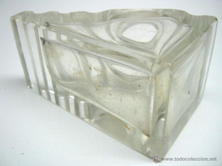 Escribanía: Gran tintero y portaplumas de cristal - Foto 4 - 44289185