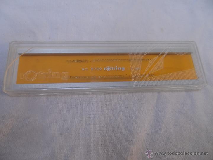 ROTRING REGLA PLANTILLA ARQUITECTO DIBUJO PLANO ART 5700 - 1.4 MM (Plumas Estilográficas, Bolígrafos y Plumillas - Plumillas y Otros Elementos de Escribanía)