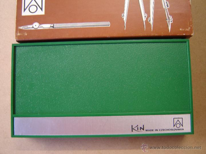 Escribanía: Estuche de dos compáses, bigotera y accesorios - Kin - Foto 2 - 44790721