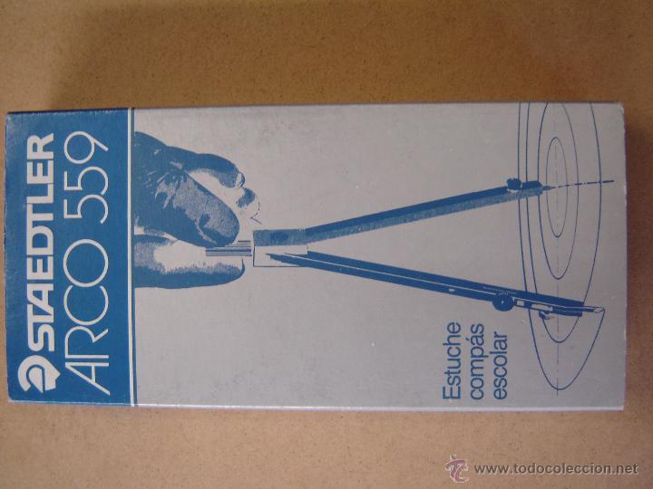 Escribanía: Estuche de compás y accesorios - Arco 559 - Staedtler - Foto 3 - 44790991