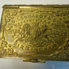 Escribanía: CAJA DE PLUMILLAS DE LEONARDT & CO DE BIRMINGHAM HACIA 1860. Lote 46972615