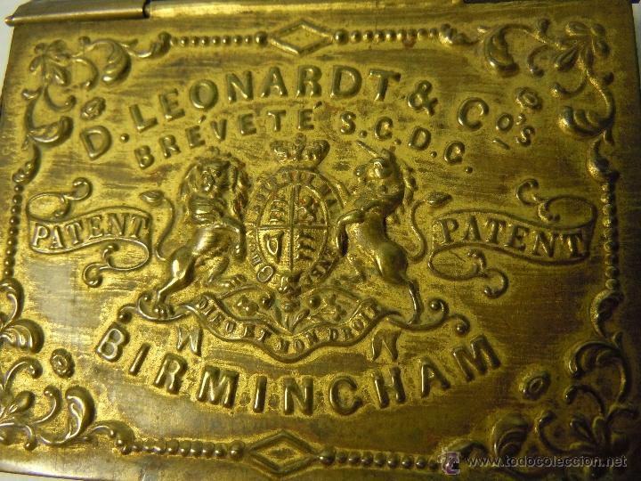 Escribanía: CAJA DE PLUMILLAS DE LEONARDT & CO DE BIRMINGHAM HACIA 1860 - Foto 4 - 46972615