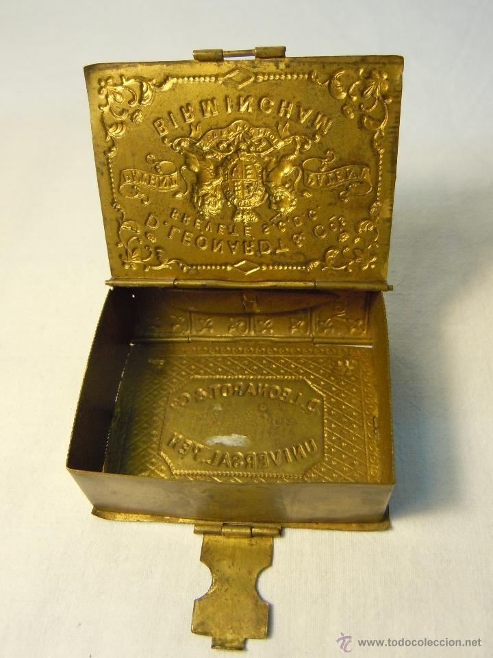 Escribanía: CAJA DE PLUMILLAS DE LEONARDT & CO DE BIRMINGHAM HACIA 1860 - Foto 5 - 46972615
