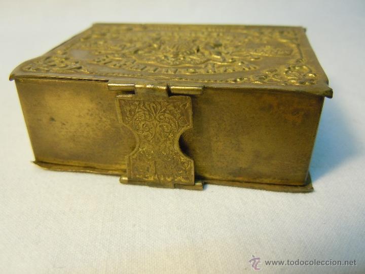 Escribanía: CAJA DE PLUMILLAS DE LEONARDT & CO DE BIRMINGHAM HACIA 1860 - Foto 6 - 46972615